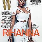 Риана полугола във W Magazine