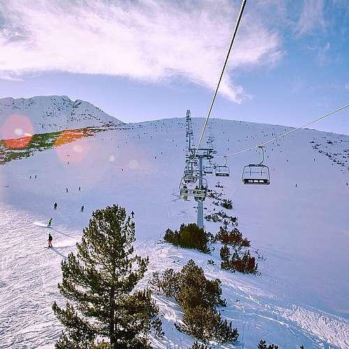 Туристи от цял свят в Банско през зимата