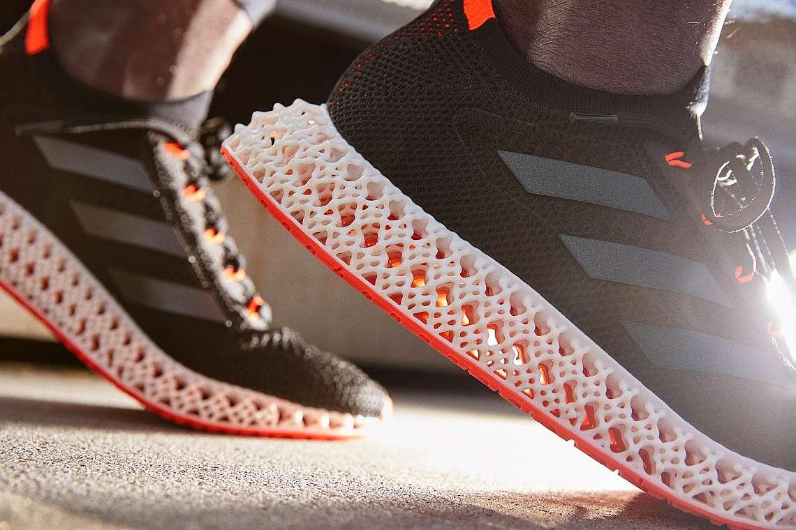 Adidas 4DFWD е от 39% биоматериал
