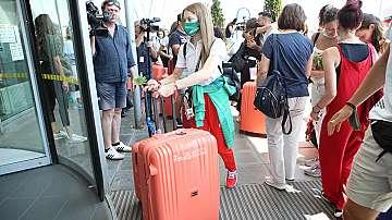 Гимнастичките ни заминаха за олимпиадата в Токио