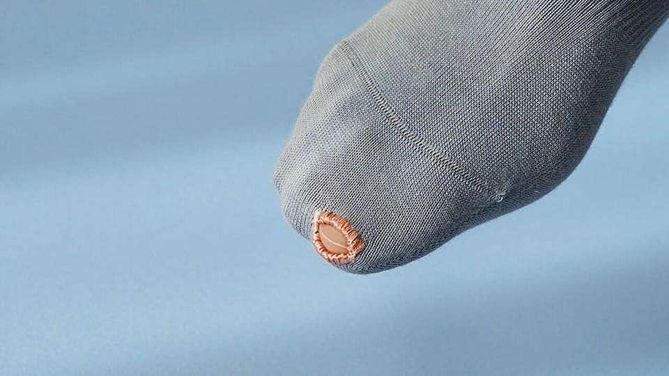 Модно - чорапи с дупка за палеца