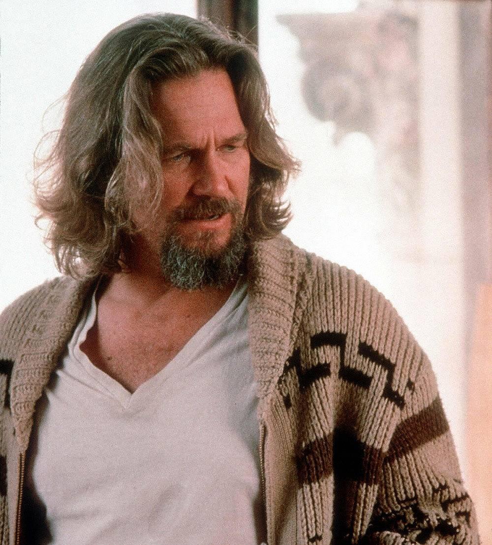 """Джеф Бриджис във филма """"Големият Лебовски"""""""
