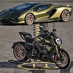 Sián FKP 37 и Ducati Diavel 1260 Lamborghini
