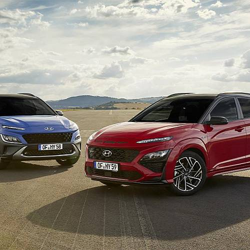 Hyundai представи обновената KONA и новата KONA N-Line