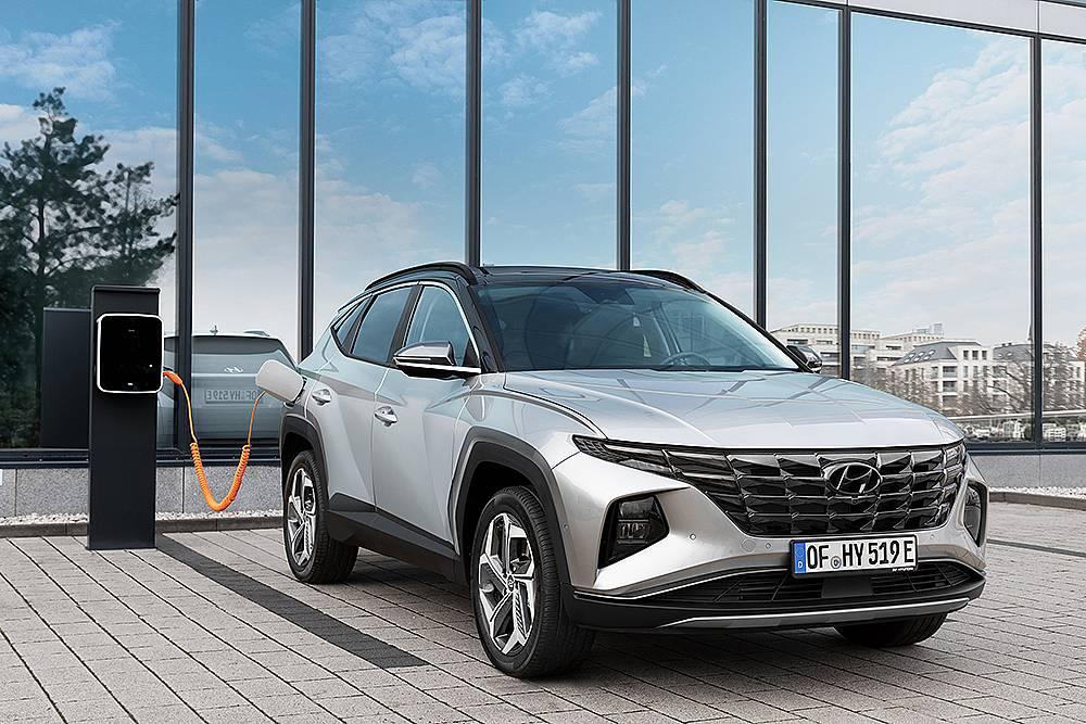 Hyundai представя Tucson Plug-In Hybrid
