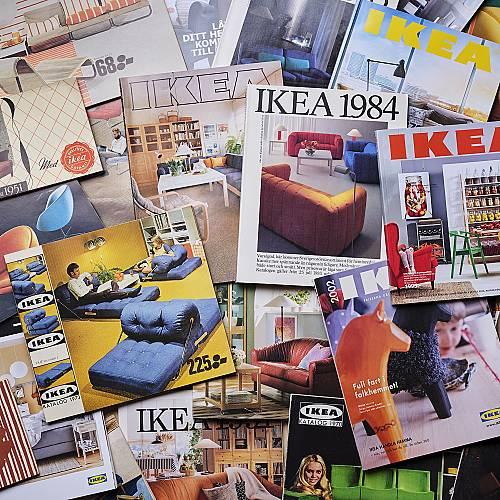 Kаталогът на IKEA беше до тук
