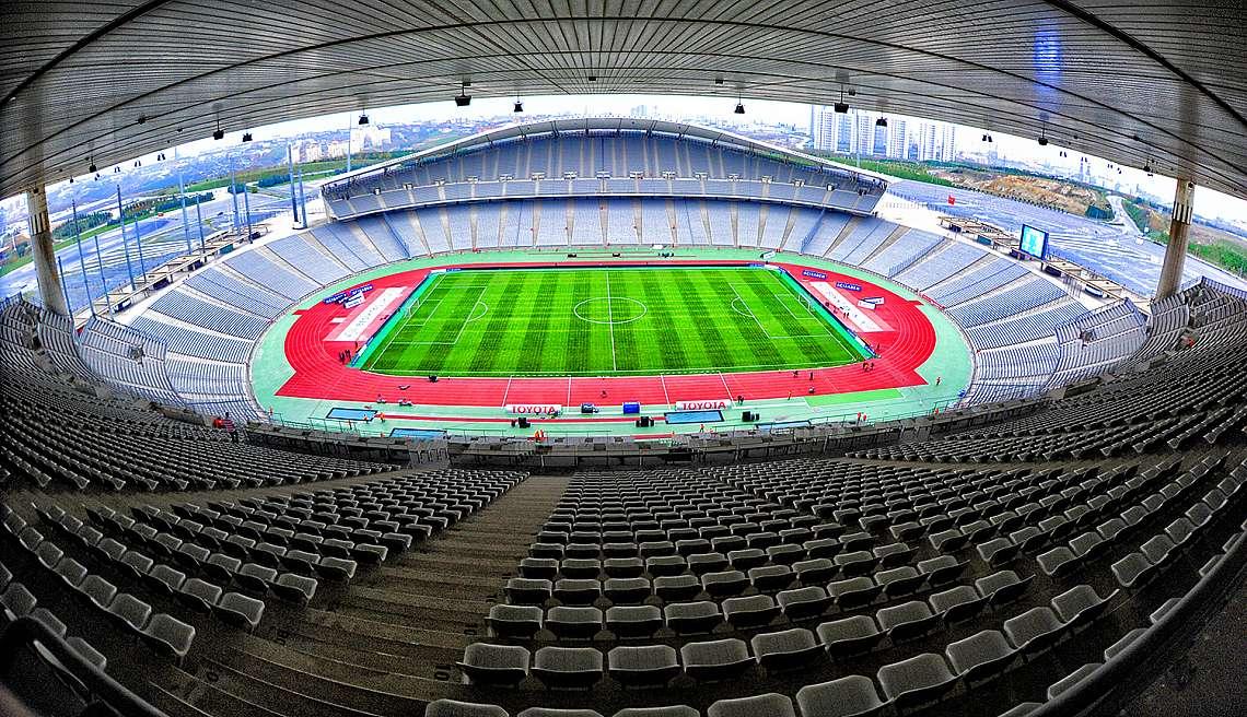 """Олимпийският стадион """"Ататюрк"""" в Истанбул, Турция"""