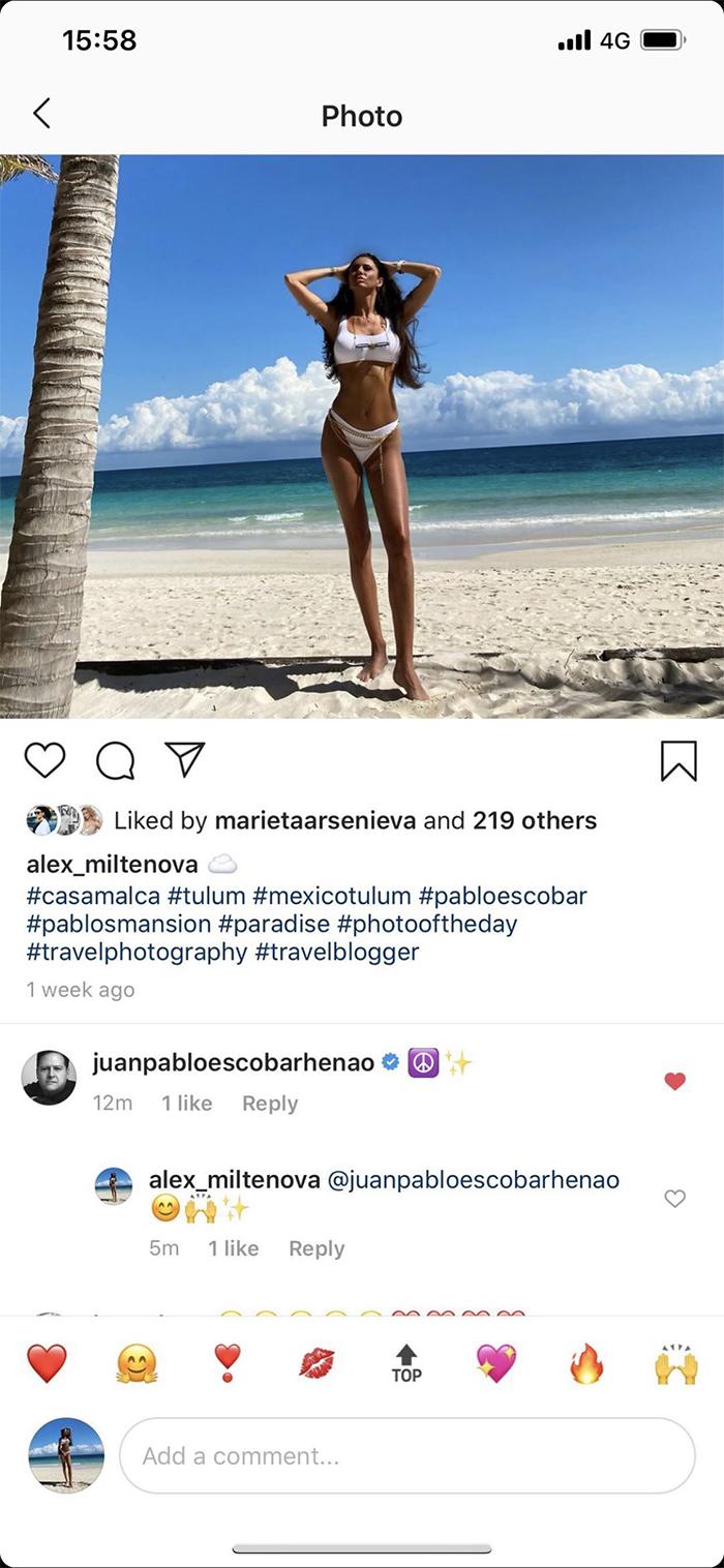 instagram alex miltenova