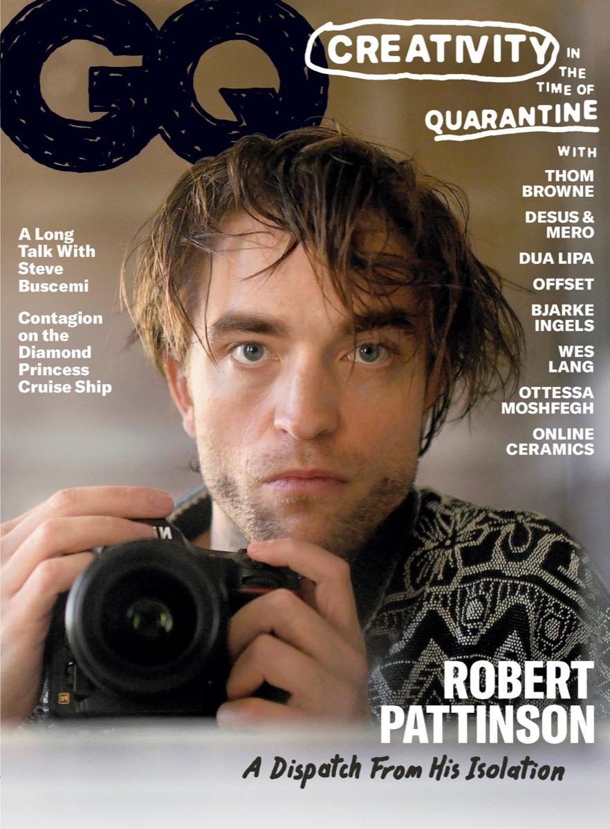 Robert Pattinson GQ June July 2020 Cover