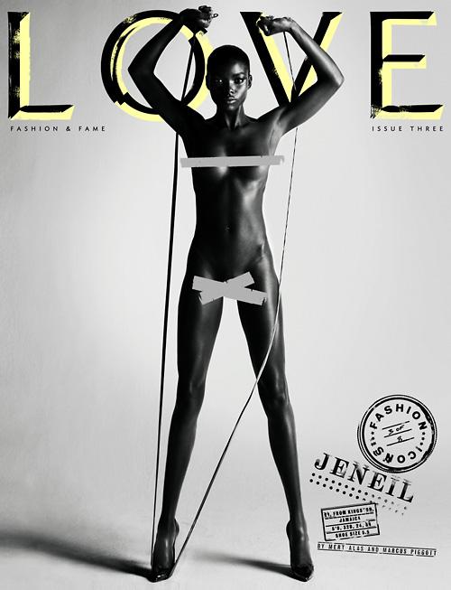 Jeneil Williams Love magazine