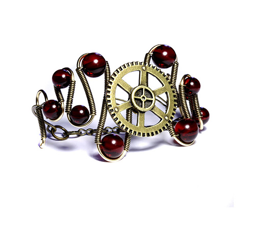 steampunk jewels rings