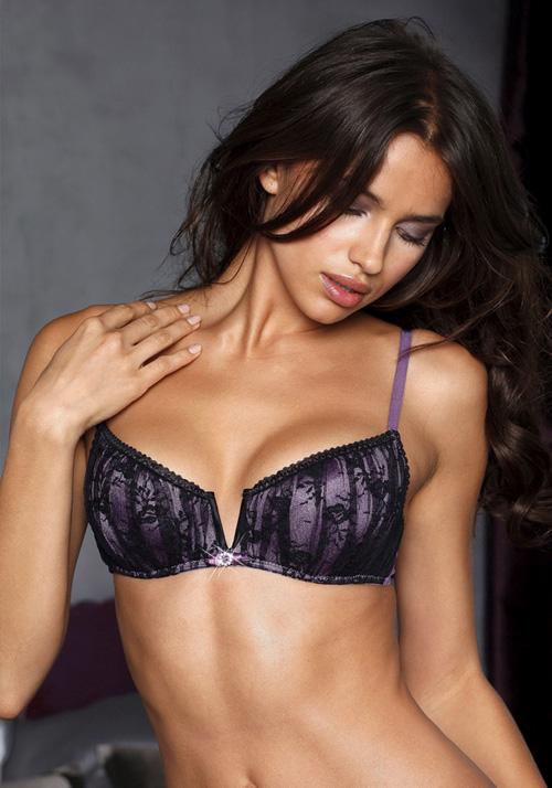 Irina Sheik sexy model for La Senza