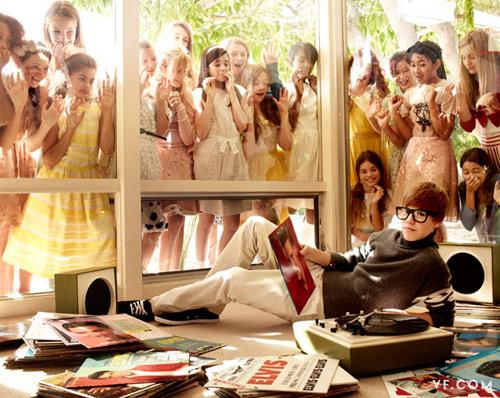 Justin Bieber Covers Vanity Fair