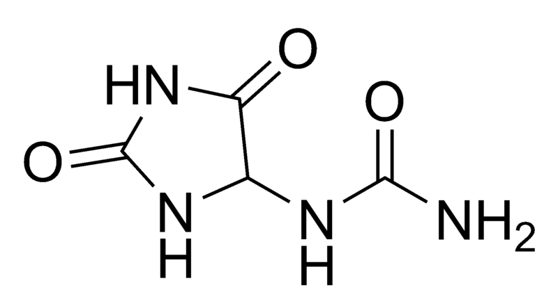 800px-Allantoin chemical structure