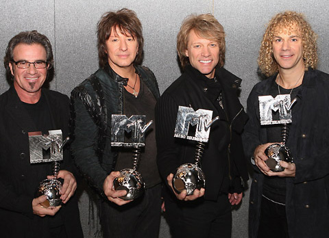 Bon Jovi MTV EMA 2010