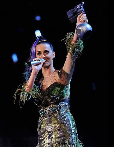 Katy Perry MTV EMA 2010