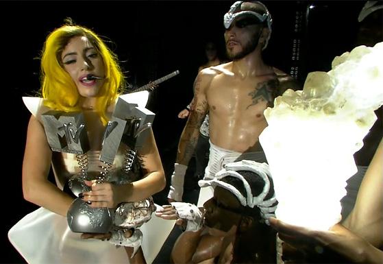 Lady Gaga MTV EMA 2010