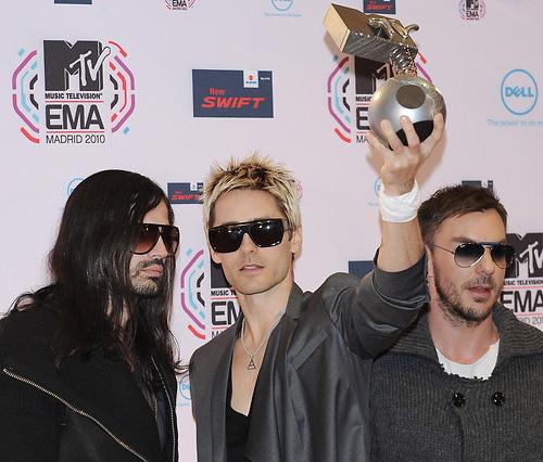 Thirty Secons to Mars MTV EMA