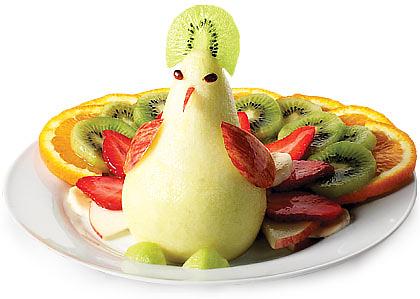 Peacock salata