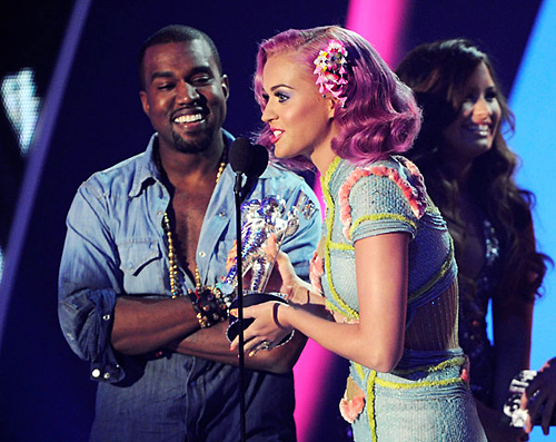 Katy Perry Kanye West MTV VMA 2011