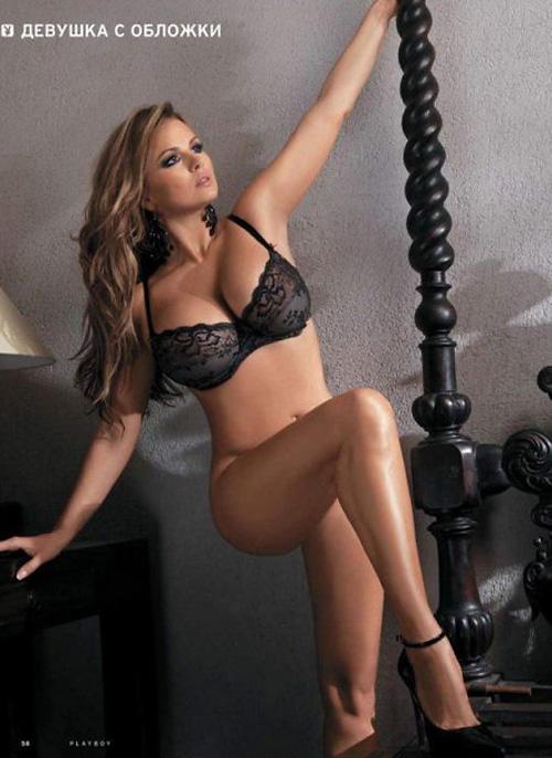 свежо Анна Семенович се съблече за Playboy 2012