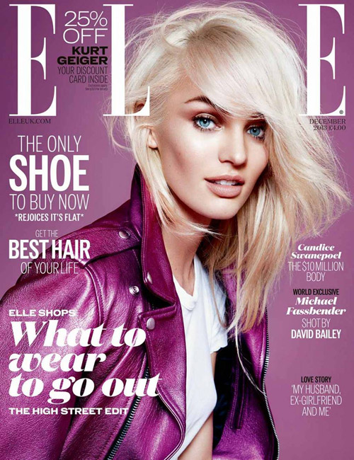 Candice Swanepoel Elle UK December 2013 01