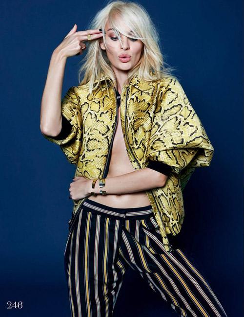 Candice Swanepoel Elle UK December 2013 06