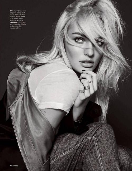 Candice Swanepoel Elle UK December 2013 09
