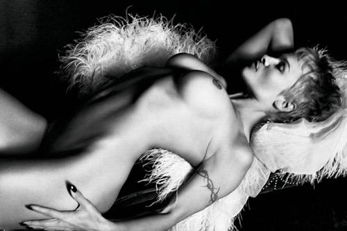Pamela Anderson PURPLE Magazine Nude 2014 04