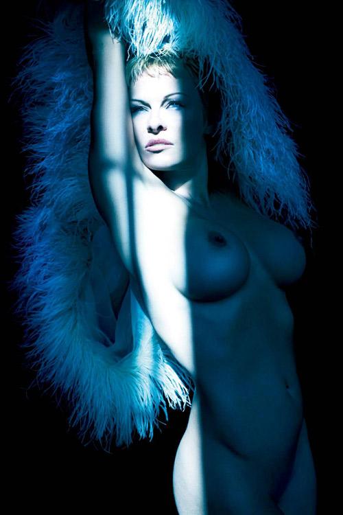 Pamela Anderson PURPLE Magazine Nude 2014 06