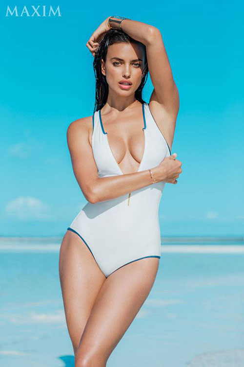 Irina Shayk Maxim july aug 2014 03