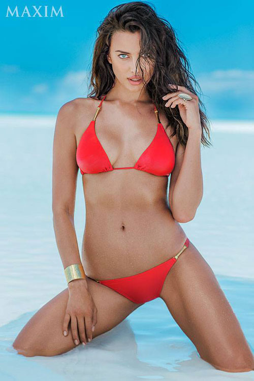 Irina Shayk Maxim july aug 2014 04