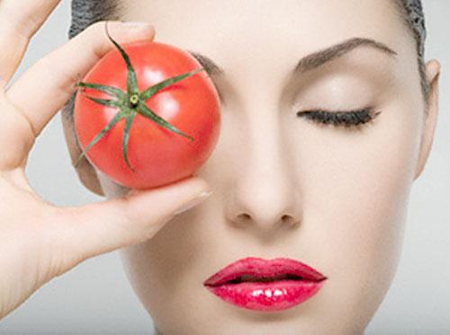 суета маски за лице от доматен сок