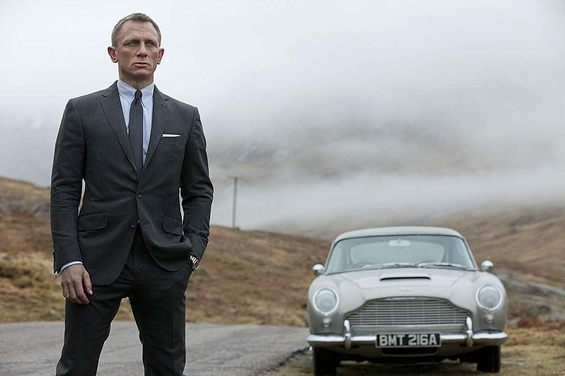 Даниъл Крейг като агент 007
