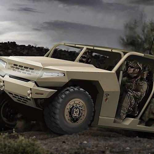 Kia разработва платформа за военни машини