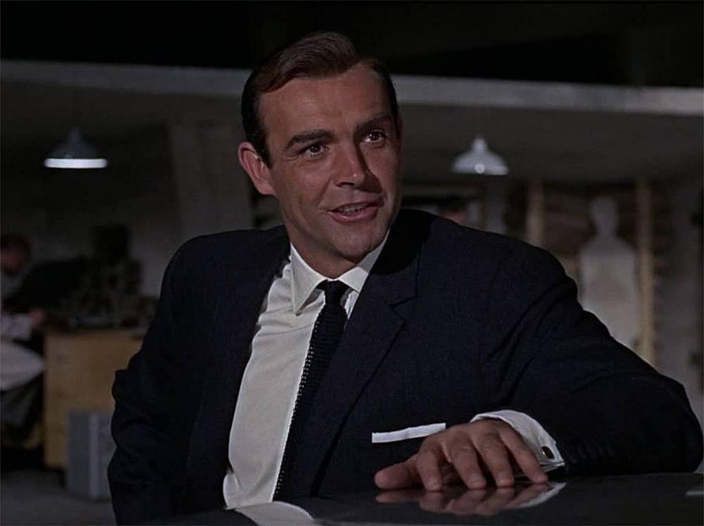 """Шон Конри в  """"007: Голдфингър"""" (1964)"""