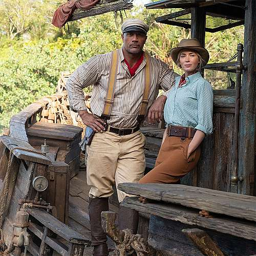Емили Блънт и Дуейн Джонсън отново заедно...
