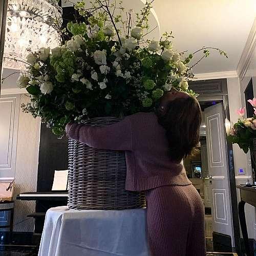 Певицата Лейди Гага отбеляза 35-ия си рожден ден в Рим