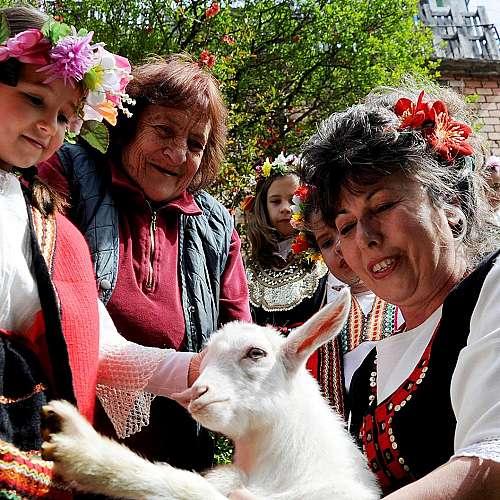 Пресъздадоха обичая лазаруване в село Бов
