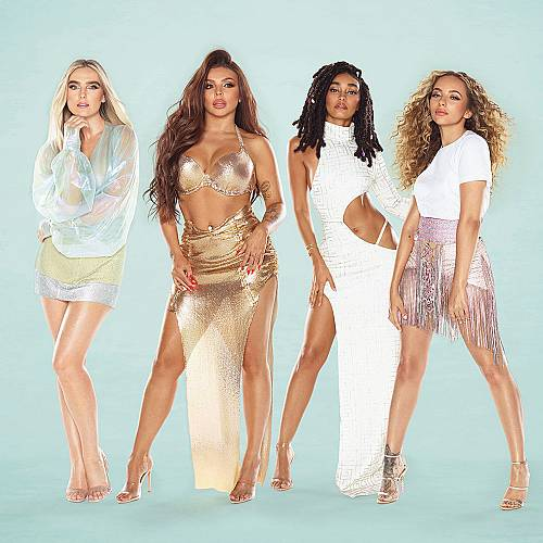 """Четирите дами от """"Литъл микс"""" празнуват новия си албум (с) """"Confetti"""""""