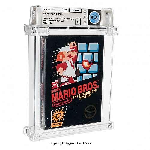 Неразпечатана игра Супер Марио Брос беше продадена на търг за 660 000 долара