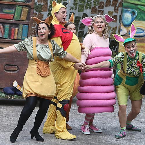 """Хитовият  детски мюзикъл """"Мечо Пух"""" в програмата на  """"Опера в парка"""" този уикенд"""