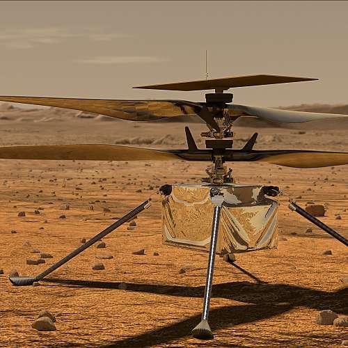 """""""Инджинюъти"""" вече е на повърхността на Марс"""