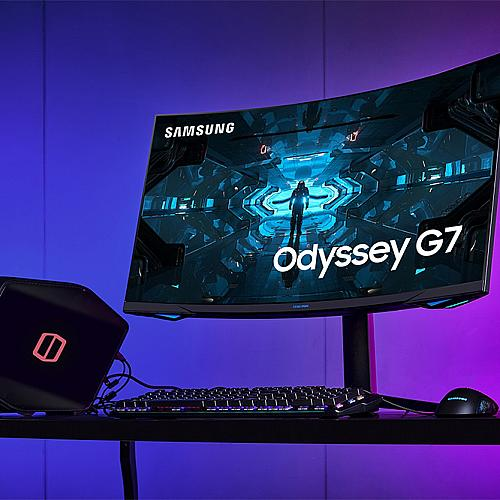 Извитият монитор за геймъри Samsung Odyssey G7 вече се предлага в България