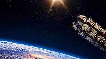 """Първите осем британски спътника """"Уан уеб"""",  изстреляни от космодрума """"Восточний"""""""