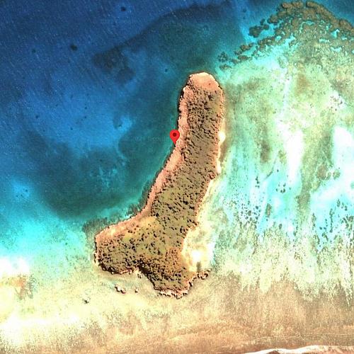 Остров с необичайна форма