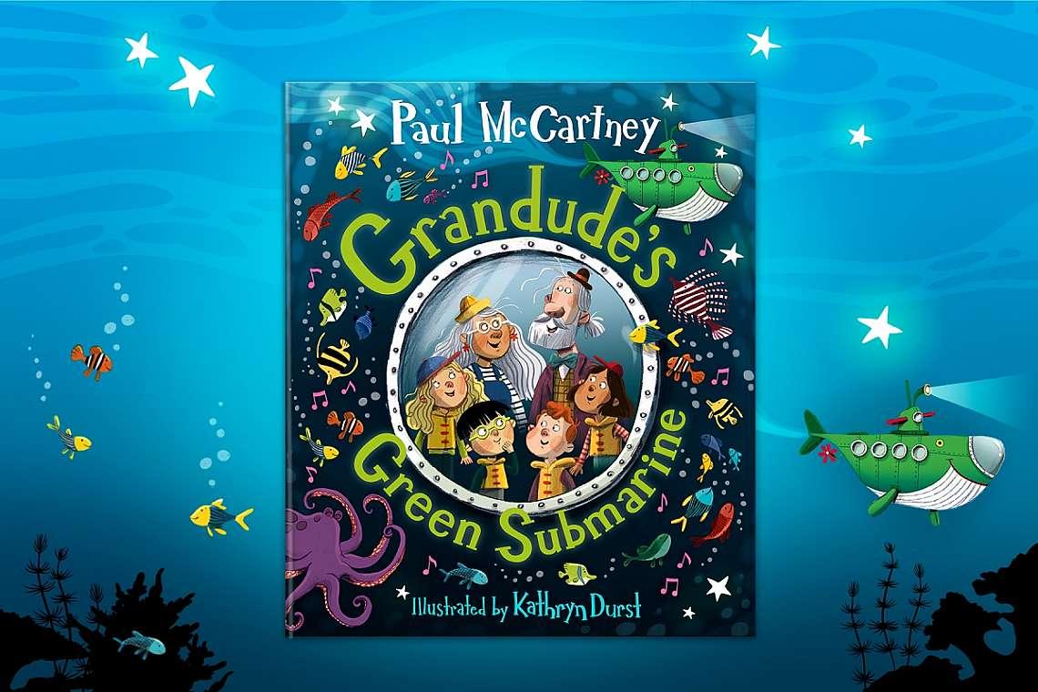 """Grandude's Green Submarine"" (Зелената подводница на дядо Готин)"