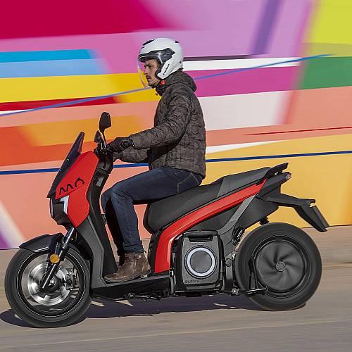 Първият изцяло електрически мотоциклет SEAT