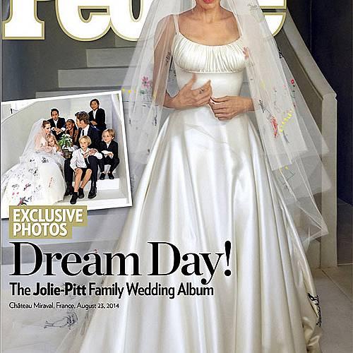 Сватбата на Анджелина Джоли и Брад Пит: първи снимки