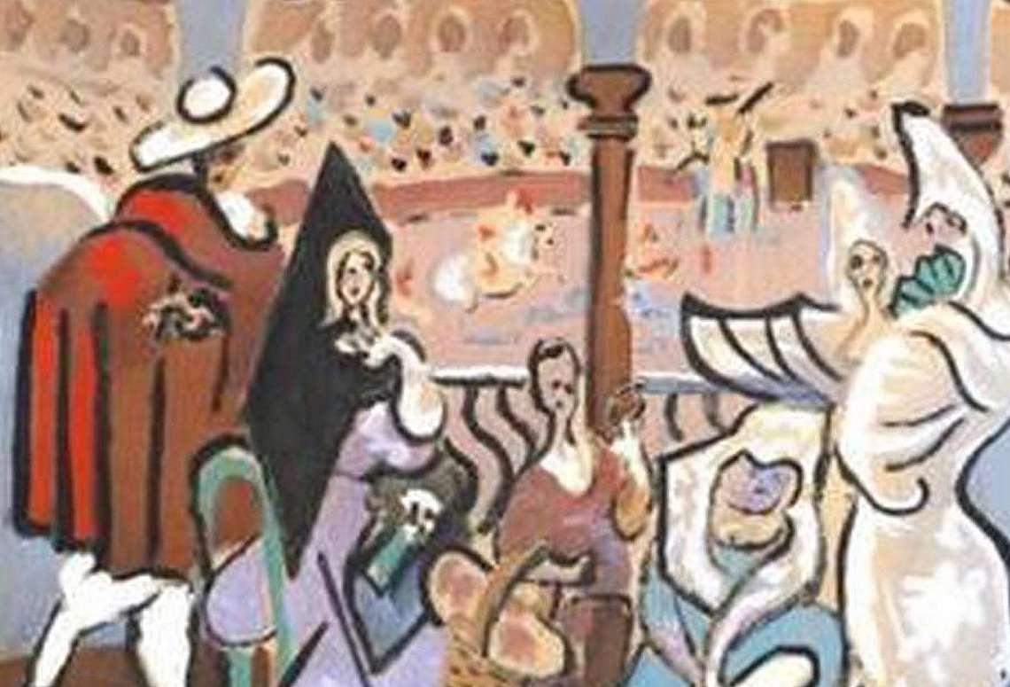 Картината е намерена в гардероба на собственик на жилище в Мейн, заедно с няколко други картини, които са били съхранявани там повече от 50 години.
